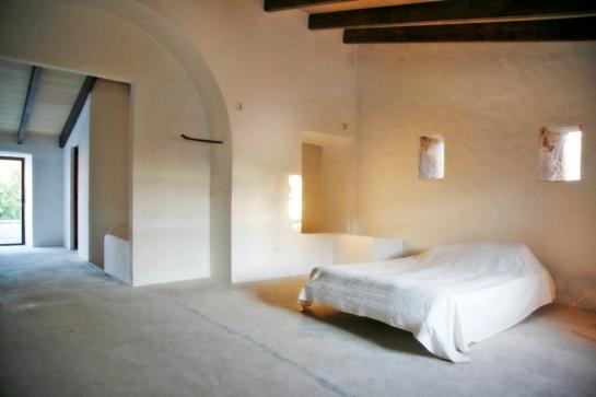 Master bedroom högst upp mot takterrassen