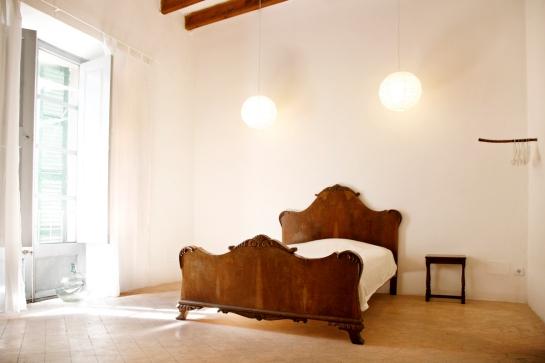 Dubbelsäng master bedroom två, andra våningen