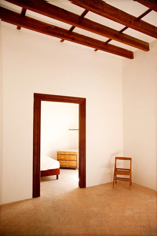 Sett från master bedroom två, andra våningen